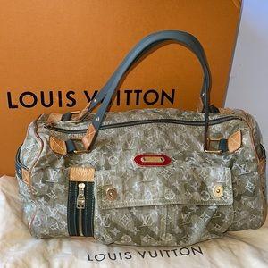 Authentic Louis Vuitton monogramouflage denim bag